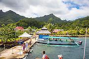 Huahine, Huahine-Iti, Maroe Bay,  French Polynesia