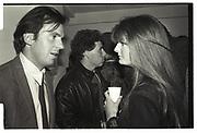 HUGO RITTSON-THOMAS, VISCOUNT LINLEY, SUSANNAH CONSTANTINE, Gallery 24, Notting Hill. June 1986,