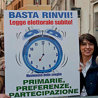 Consegnata sveglia per Legge elettorale
