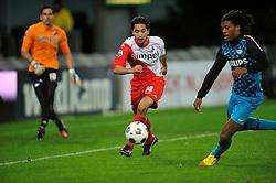 22-01-2012 VOETBAL: FC UTRECHT - PSV: UTRECHT<br /> Utrecht speelt gelijk tegen PSV 1-1 / Mark van der Maarel<br /> ©2012-FotoHoogendoorn.nl