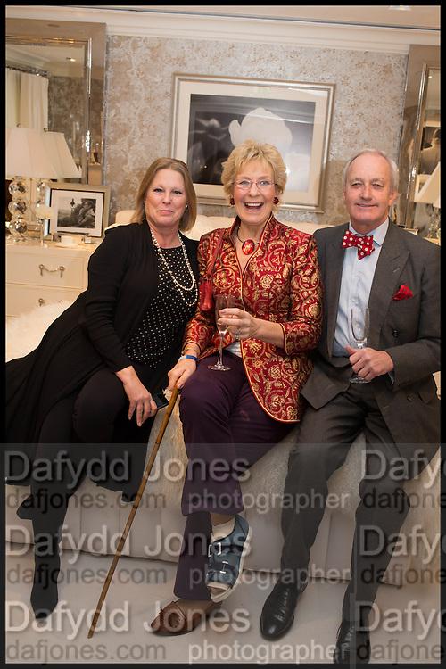 LUCY FOX- VISCOUNTESS GORMANSTON; CHRISTINE HAMILTON; NEIL HAMILTON, Ralph Lauren host launch party for Nicky Haslam's book ' A Designer's Life' published by Jacqui Small. Ralph Lauren, 1 Bond St. London. 19 November 2014