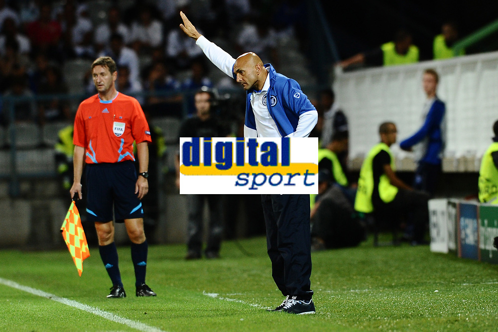 FOOTBALL - CHAMPIONS LEAGUE 2010/2011 - PLAY OFF - 2ND LEG - AJ AUXERRE v ZENIT ST PETERSBURG - 25/08/2010 - PHOTO GUY JEFFROY / DPPI - LUCIANO SPALLETTI LUCIANO (ZENIT COACH)