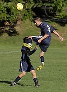 Oakwood Friends School at Storm King School boys' soccer