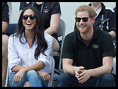 Prince Harry And Megan Markle First Public Appearance - 25 Sep 2017