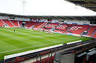 General view of the Keepmoat Stadium before the EFL Sky Bet League 1 match between Doncaster Rovers and Coventry City at the Keepmoat Stadium, Doncaster, England on 4 May 2019.