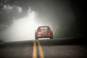 Image of a red 1958 Porsche Carrera GT Speedster in California, America, west coast by Randy Wells