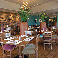Dalmore Inn, Perthshire restaurant interiors photography