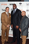 7 March 2011- New York, NY- l to r: Keith Solomon, Irving Johnson and Brett Wright at the Power of Urban Presentation and Reception hosted by Magic Johnson and Yucaipa and held at the Empire Penthouse on March 7, 2011 in New York City. Photo Credit: Terrence Jennings/Photo Credit: Terrence Jennings for Uptown Magazine