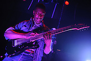 Avante garde metal band Animals As Leaders performing at the Blue Note in Columbia, MO on March 16, 2010.