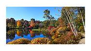 Land and Garden Preserve, Mount Desert Island, Acadia National Park, Maine, USA