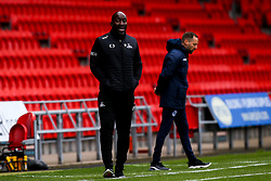Doncaster Rovers manager Darren Moore - Mandatory by-line: Robbie Stephenson/JMP - 26/09/2020 - FOOTBALL - The Keepmoat Stadium - Doncaster, England - Doncaster Rovers v Bristol Rovers - Sky Bet League One
