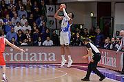 DESCRIZIONE : Beko Legabasket Serie A 2015- 2016 Playoff Quarti di Finale Gara3 Dinamo Banco di Sardegna Sassari - Grissin Bon Reggio Emilia<br /> GIOCATORE : Kenneth Kadji<br /> CATEGORIA : Tiro Tre Punti Three Point Controcampo<br /> SQUADRA : Dinamo Banco di Sardegna Sassari<br /> EVENTO : Beko Legabasket Serie A 2015-2016 Playoff<br /> GARA : Quarti di Finale Gara3 Dinamo Banco di Sardegna Sassari - Grissin Bon Reggio Emilia<br /> DATA : 11/05/2016<br /> SPORT : Pallacanestro <br /> AUTORE : Agenzia Ciamillo-Castoria/L.Canu