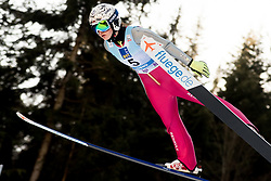 February 7, 2019 - Ljubno, Savinjska, Slovenia - Kinga Rajda of Poland competes on qualification day of the FIS Ski Jumping World Cup Ladies Ljubno on February 7, 2019 in Ljubno, Slovenia. (Credit Image: © Rok Rakun/Pacific Press via ZUMA Wire)