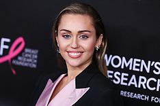 Miley Cyrus Helps MAC Announce a $10 Million Donation - 2 April 2020