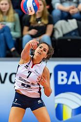 17-02-2019 NED: National Cupfinal Sliedrecht Sport - Apollo 8, Zwolle<br /> Favorite Sliedrecht too big for Apollo 8 in cup final and win 3-0 / Esther van Berkel #7 of Sliedrecht Sport