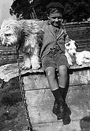 Portrait of a young boy, 1940s