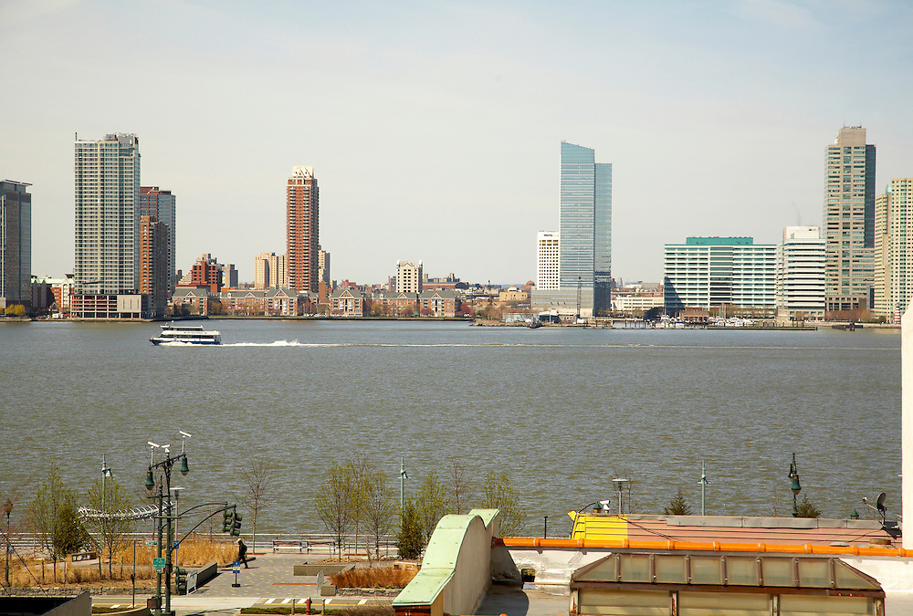View of the Hudson River from 427 Washington Street, 4th floor
