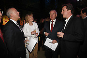HUW JENKINS,( CHAIRMAN OF UBS)  ALISON MYNERS, PAUL MYNERS AND DAVID CAMERON, Launch of Tat Modern's rehang of its permanent Collection in partnership with UBS. Tate Modertn. 23 May 2006. ONE TIME USE ONLY - DO NOT ARCHIVE  © Copyright Photograph by Dafydd Jones 66 Stockwell Park Rd. London SW9 0DA Tel 020 7733 0108 www.dafjones.com