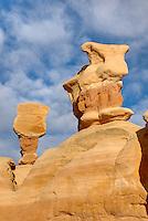 Sandstone hoodoos of Devils Garden, Grand Staircase Escalante National Monument Utah