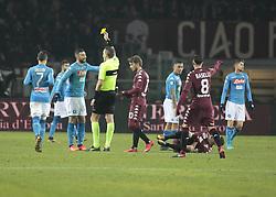 December 16, 2017 - Turin, Italy - Raul Albiol during Serie A match between Torino v Napoli, in Turin, on December 16, 2017  (Credit Image: © Loris Roselli/NurPhoto via ZUMA Press)