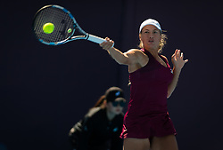 October 1, 2018 - Yulia Putintseva of Kazhakstan in action during her first-round match at the 2018 China Open WTA Premier Mandatory tennis tournament (Credit Image: © AFP7 via ZUMA Wire)