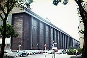 AEG turbine factory building, AEG-Turbinenfabrik, Berlin, Germany 1960s architect Peter Behrens built 1909