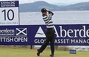 The Aberdeen Asset Management Scottish Open Golf Championship 2012 At Castle Stuart Golf Links..3rd Round Saturday 14-07-12.. .Scotland's Marc Warren , during the 3rd Round of The Aberdeen Asset Management Scottish Open Golf Championship 2012 At Castle Stuart Golf Links. The event is part of the European Tour Order of Merit and the Race to Dubai....At Castle Stuart Golf Links, Inverness, Scotland...Picture Mark Davison/ ProLens PhotoAgency/ PLPA.Saturday 14th July 2012.
