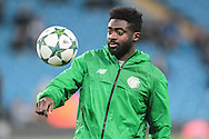 Kolo Touré (Celtic) before the Champions League match between Manchester City and Celtic at the Etihad Stadium, Manchester, England on 6 December 2016. Photo by Mark P Doherty.
