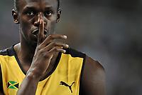 ATHLETICS - IAAF WORLD CHAMPIONSHIPS 2011 - DAEGU (KOR) - DAY 7 - 02/09/2011 - MEN 200M - USAIN BOLT (JAM) - PHOTO : FRANCK FAUGERE / KMSP / DPPI