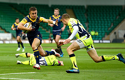George Wooten of Worcester Warriors runs with the ball - Mandatory by-line: Robbie Stephenson/JMP - 28/07/2017 - RUGBY - Franklin's Gardens - Northampton, England - Sale Sharks v Worcester Warriors - Singha Premiership Rugby 7s