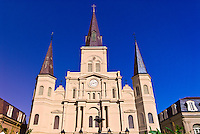 St. Louis Cathedral, French Quarter, New Orleans, Louisiana, USA