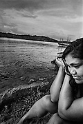 Brazil, Oiapoque, Amapa.<br /> <br /> Oiapoque, est le dernier point de passage bresilien d'une prostitution plus ou moins organisee vers la Guyane française.<br /> Pendant que les hommes partent faire les garimpeiros en foret, les jeunes femmes viennent tenter leur chance à la frontiere guyanaise. Elles font le bonheur des garimpeiros venus vendre leur or en ville.