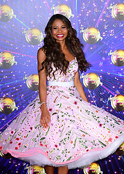 Viscountess Emma Weymouth arriving at the red carpet launch of Strictly Come Dancing 2019, held at BBC TV Centre in London, UK.