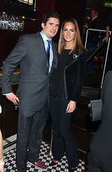 EDWARD TAYLOR and SHELLEY ROSS at a party to launch the Frankie's TLC Card and the TLC Clubcard held at Frankie's Knightsbridge, 3 Yeomans Row, London SW3 on 1st February 2006.<br /><br />NON EXCLUSIVE - WORLD RIGHTS