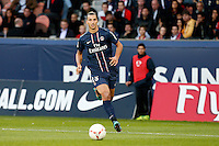 FOOTBALL - FRENCH CHAMPIONSHIP 2012/2013 - L1 - PARIS SAINT GERMAIN VS SOCHAUX - 29/09/2012 - ZLATAN IBRAHIMOVIC (PARIS SAINT-GERMAIN)