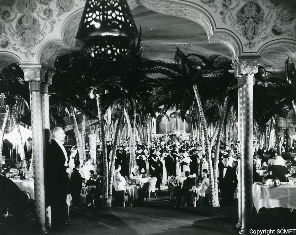 1938 Interior of The Cocoanut Grove