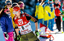 29.01.2017, Casino Arena, Seefeld, AUT, FIS Weltcup Nordische Kombination, Seefeld Triple, Langlauf, im Bild Fabian Riessle (GER) // Fabian Riessle of Germany during Cross Country Gundersen Race of the FIS Nordic Combined World Cup Seefeld Triple at the Casino Arena in Seefeld, Austria on 2017/01/29. EXPA Pictures © 2017, PhotoCredit: EXPA/ JFK