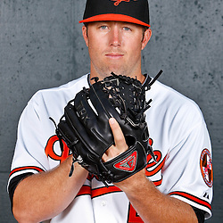February 26, 2011; Sarasota, FL, USA; Baltimore Orioles relief pitcher Jeremy Accardo (50) poses during photo day at Ed Smith Stadium.  Mandatory Credit: Derick E. Hingle
