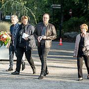 NLD/Leusden/20181005 - Bn-ers nemen afscheid van Koos Alberts, Frans Bauer en zijn moeder Wies Bauer