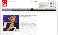 Sally Bercow / Red Online / 5th August 2011.