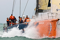 © Sander van der Borch.Alicante, 11 October 2008. Start of the Volvo Ocean Race.  Ericsson 4 at the start of the first leg from Alicante  to Capetown..