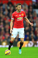 Michael Carrick of Manchester United - Manchester United vs. Crystal Palace - Barclay's Premier League - Old Trafford - Manchester - 08/11/2014 Pic Philip Oldham/Sportimage