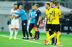 Kevin Kampl of Borussia Dortmund as substitute for Marco Reus of Borussia Dortmund during football match between WAC Wolfsberg (AUT) and  Borussia Dortmund (GER) in First leg of Third qualifying round of UEFA Europa League 2015/16, on July 30, 2015 in Wörthersee Stadion, Klagenfurt, Austria. Photo by Vid Ponikvar / Sportida