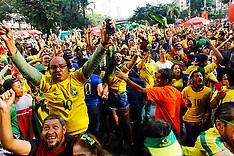 Brazil Fans - 27 June 2018