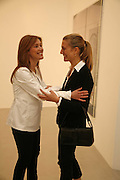 Louise  Wilson and Pilar Corrias, Jane and Louise Wilson,-'The New Brutalists' Lisson Gallery. Bell st. Collectors opening. 15 May 2006.  ONE TIME USE ONLY - DO NOT ARCHIVE  © Copyright Photograph by Dafydd Jones 66 Stockwell Park Rd. London SW9 0DA Tel 020 7733 0108 www.dafjones.com