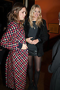 DASHA ZHUKOVA; LILY DONALDSON, Opening of Morris Lewis: Cyprien Gaillard. From Wings to Fins, Sprüth Magers London Grafton St. London. Afterwards dinner at Simpson's-in-the-Strand hosted by Monika Spruth and Philomene Magers.