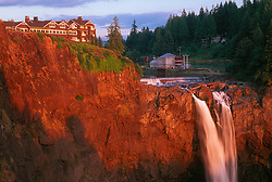 Salish Lodge Above Snoqualmie Falls, Snoqualmie, Washington, US