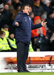 Israel manager Andreas Herzog gestures on the touchline during the UEFA Nations League, Group C1 match at Hampden Park, Glasgow.