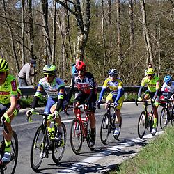 25-04-2021: Wielrennen: Luik Bastenaken Luik (Mannen): Luik <br />Kopgroep die de wedstrijd kleurde