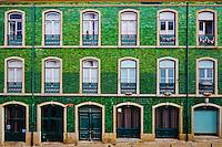 Portugal, Lisbonne, façade dans le Bairro Alto // Portugal, Lisbon, front building in Bairro Alto area